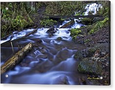 Wahkeena Creek Bridge # 5 Signed Acrylic Print