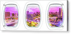 Waikiki Porthole Windows Acrylic Print