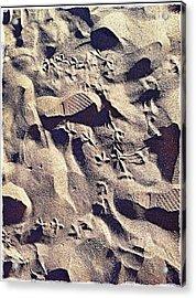Waikiki Sand Acrylic Print
