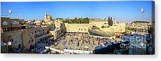 Haram Al Sharif / Temple Mount - Israel / Palestine Acrylic Print by Wietse Michiels