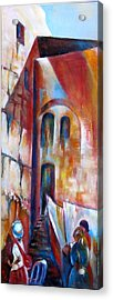 Wailing Wall Women  Section Acrylic Print