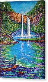 Wailua Falls - Kauai Acrylic Print