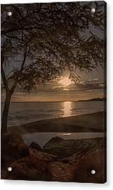 Waimea Bay Sunset 4 Acrylic Print