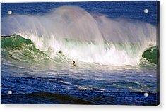 Waimea Bay Wave Acrylic Print by Kevin Smith