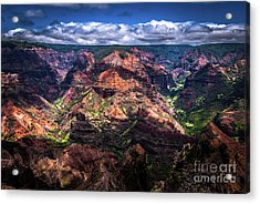 Waimea Canyon On Kauai Acrylic Print