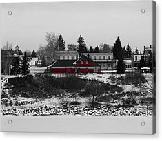Acrylic Print featuring the photograph Heritage Park by Stuart Turnbull