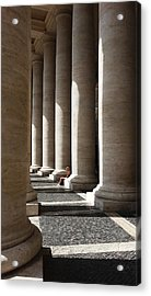 Waiting At St Peter's Acrylic Print