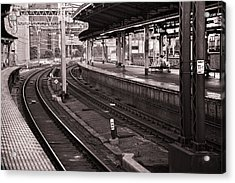 Acrylic Print featuring the photograph Waiting by Brad Brizek