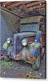 Waiting For A Part Acrylic Print by Jim Dohms