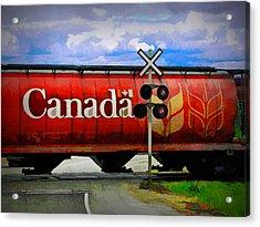 Waiting For Canada Acrylic Print