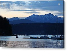 Waiting For Fireworks At Alderbrook Acrylic Print