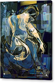 Waiting For Godot Acrylic Print by Anne Weirich