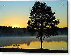 Waiting For Guests To Arrive Acrylic Print