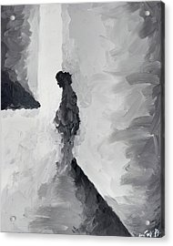 Waiting For Her Audition Acrylic Print by Steve Park