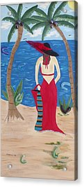 Waiting For Her Lover Acrylic Print by Alanna Hug-McAnnally