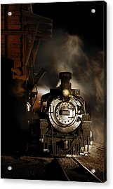 Waiting For More Coal Acrylic Print