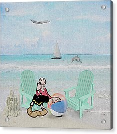 Waiting For Popeye Acrylic Print