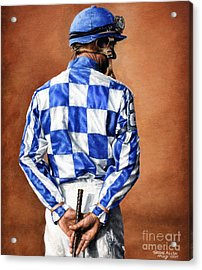 Waiting For Secretariat Acrylic Print