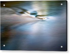 Waiting For The River Acrylic Print by Scott Norris
