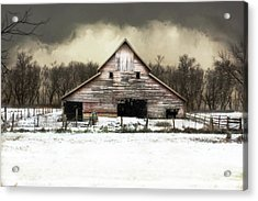 Acrylic Print featuring the photograph Waiting For The Storm To Pass by Julie Hamilton