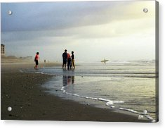 Acrylic Print featuring the photograph Waiting For The Sun by Phil Mancuso