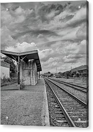 Waiting For The Train Acrylic Print