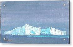 Waiting For Titanic Acrylic Print by Tania Yukhimets