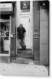 Acrylic Print featuring the photograph Waiting On A Friend by Rob Hans