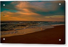 Waiting On The Dawn Acrylic Print