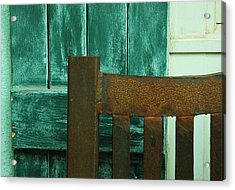 Waiting On You Acrylic Print by Lori Mellen-Pagliaro