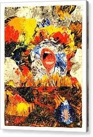 Waiting Room Acrylic Print by Howard Goldberg