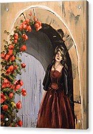 Waiting Acrylic Print by Scarlett Royal