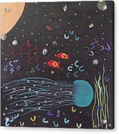 Waiting To Come Home Acrylic Print by Alanna Hug-McAnnally