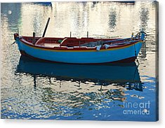 Acrylic Print featuring the photograph Waiting To Go Fishing by Frank Stallone
