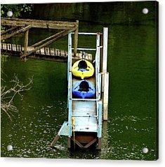 Waiting To Kayak Acrylic Print