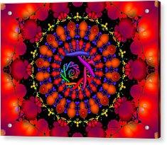 Acrylic Print featuring the digital art Wake by Robert Orinski