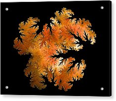 Waking In Mandelbrot Forest-2 Acrylic Print