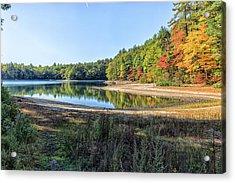 Walden Pond Acrylic Print