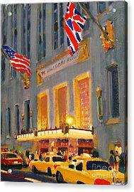 Waldorf-astoria Acrylic Print