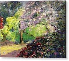 Wales Garden Acrylic Print