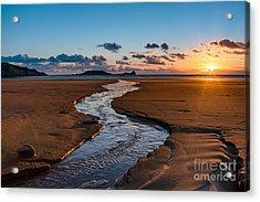 Wales Gower Coast Acrylic Print