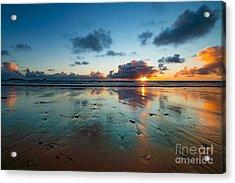 Wales Gower Coast Summer  Acrylic Print