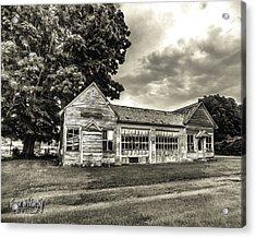 Walholding Post Office Acrylic Print