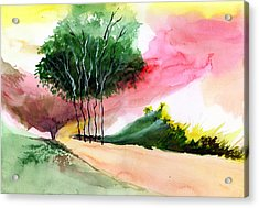 Walk Away Acrylic Print by Anil Nene