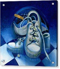 Walk For Health Acrylic Print