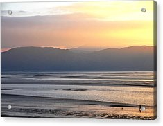 Acrylic Print featuring the photograph Walk On The Beach by Harry Robertson