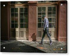 Acrylic Print featuring the photograph Walk by Ryan Shapiro