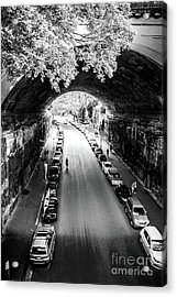 Acrylic Print featuring the photograph Walk The Tunnel by Perry Webster