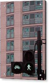 Walk This Way Acrylic Print by Jez C Self