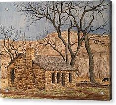 Walker Homestead In Escalante Canyon Acrylic Print